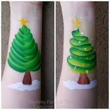 Simple Christmas Designs To Paint Pin By Lindsay Carey Asquith On Face Painting Christmas