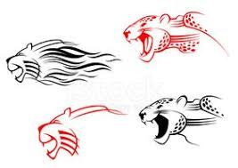 Divoká Zvířata Tetování Vektory Z Knihovny Clipartme