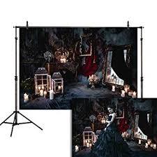 <b>Allenjoy</b> 7x5ft Halloween Vampire <b>Photography Backdrop</b> Luxurious ...