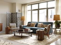 Interior Decorated Living Rooms Adorable Coastal Living Decor Living Room Midcentury With Sheer Curtains