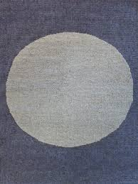spotlight textured rug in wool overhead