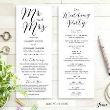 Booklet Program Template Booklet Wedding Program Template Church Order Of Service