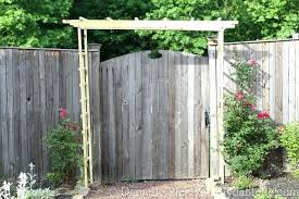 wooden garden arch arbor completed kits how to build a trellis wooden garden arch