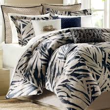 tropical duvet covers king size coastal bedding queen palm bedding sets