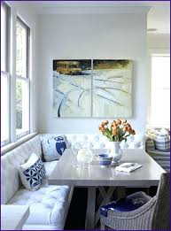 corner dining banquette corner banquette with round table home design ideas in bench within plans 5