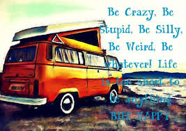 Vw Quote VW Campervan quote MAGNETIC ACRYLIC MINI PICTURE FRAME 9