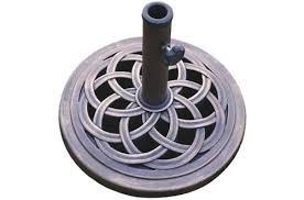 dc america ubp18181 br 18 inch cast stone umbrella base