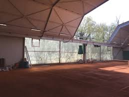 Bay Court Collection Lighting 150w Led Linear High Bay As Sports Light Used At Tennis