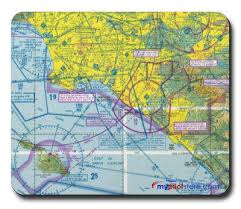 Great Falls Sectional Chart Mouse Pad Vfr Sectional Chart Albuquerque