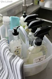 Best Way To Clean Bathroom Gorgeous How To Organize Your Cleaners Home Cleaning Product Organization