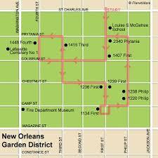 garden district new orleans walking tour map. Brilliant District Dazzling Ideas Garden District New Orleans Walking Tour Map Remarkable  Design 15 Top Inside G