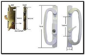 replacing lock mechanism on sliding glass door