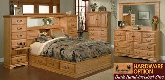 Beautiful Custom Wood Bedroom Furniture Optional. Stylish And Also  Interesting Solid Wood Contemporary Bedroom. American Made ...