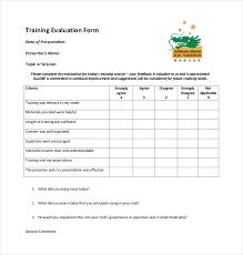 On The Job Training Form