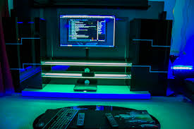 game room lighting ideas. Amazing Gaming Room Set Up (11) - Livinator | GAMING CENTRAL Pinterest Game Rooms, Desk And Lighting Ideas I