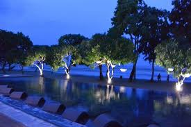 Infinity pool night Picture of Astoria Palawan Puerto Princesa