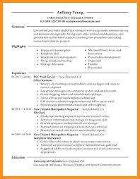 7 8 Office Administrative Resume Samples Wear2014 Com