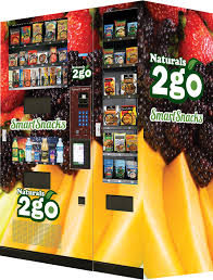 Healthy Vending Machine Business Impressive Naturals 48go