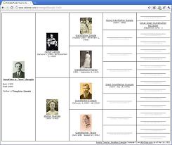 Example Of Family Tree Chart Free Printable Family Tree Diagrams