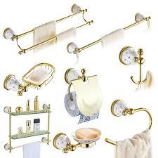 solid brass gold bathroom hardware sets