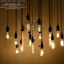 whole 18set edison antique bulb pendant lamps diy nostalgic vintage style pendant lights