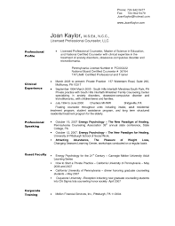 Save Sample Resume Licensed Professional Counselor Crossfitrespect Com