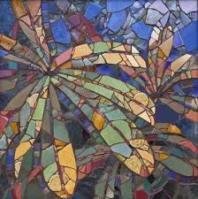 others lupine leaves mosaic art