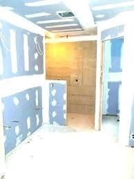 dry wall estimate drywall green board should be used in bathroom for b drywall