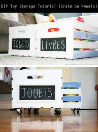 diy storage tutorial learn how to make your very own crate on wheels this