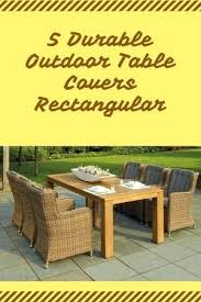 outdoor table cover rectangular covers round with umbrella hole