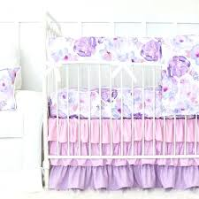purple baby bedding crib sets baby girl crib bedding lane purple nursery crib bedding set
