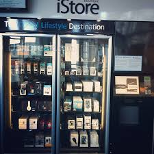 Vending Machine Vancouver New IPHONE The IStore Express Is Everything You Love About An Apple