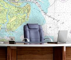Nautical Charts Online Wall Murals From Nautical Charts Online Are Fully
