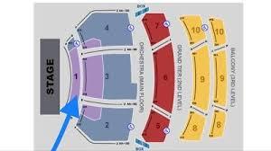 Hamilton 1 Pair Of Front Orchestra Row D Seats At Dpac
