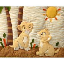 disney baby bedding lion king wild about you 4 piece deluxe crib bedding set com