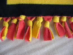 Hooked on Needles: No Sew Fleece Blankets & No Sew Fleece Blankets Adamdwight.com