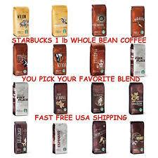 starbucks coffee bag dark. Fine Dark Starbucks Whole Bean 1lb Coffee LIGHTMEDIUMDARK ROAST U PICK  Inside Coffee Bag Dark