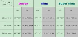King Size Bed Sheet Dimensions