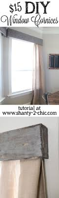 wood cornice ideas window treatments for sliding doors in living room valance diy kits at home