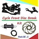 Buy Bridge2shopping Cycle Hub <b>Set</b>, <b>Bicycle</b> Hubs, 36 Hole, Alloy ...