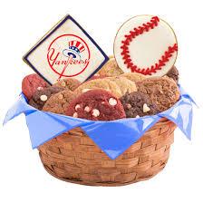 mlb cookie basket new york yankees
