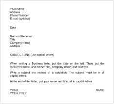 Sample Business Letters Format Business Writing Sample Cycling Studio