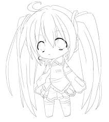 Anime Cat Girl Coloring Pages At Getdrawingscom Free For Personal