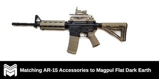 Matching Ar 15 Accessories To Magpul Flat Dark Earth