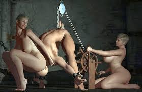Male bondage of the genitals