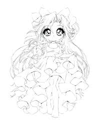 kawaii chibi girl coloring pages coloring page coloring pages mermaid colouring pages anime coloring page coloring