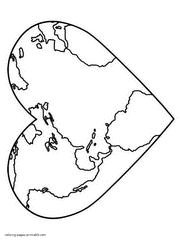 You can use our amazing online tool to color and edit the following earth coloring pages. Earth Day Coloring Pages Free Printable Recycling Pictures
