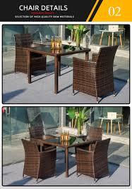garden furniture outdoor rattan hotel