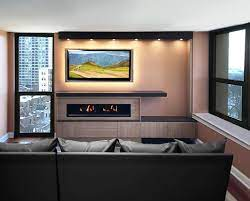 custom entertainment center and