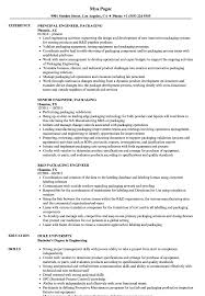 Packing Resume Sample Engineer Packaging Resume Samples Velvet Jobs 15